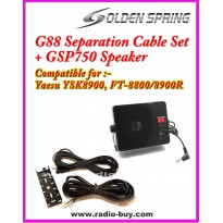 G-88 Separation Cable Kit + GSP750 External Speakerfor Yaesu FT-8800R & FT-8900R, YSK-8900, TYT TH9800