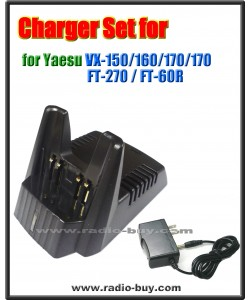 Yaesu - Compatible Charger Set  CD30 for Yaesu (FNB-83/94, FNB-V57/V88) VX150/170/177 FT-60R series