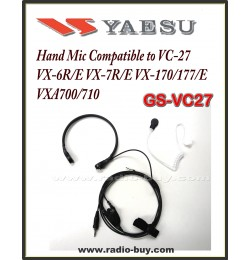 Earphone for Yaesu, GS-VC27  VX-6R/E VX-7R/E VX-170/177/E, VXA-700 (VC-27)