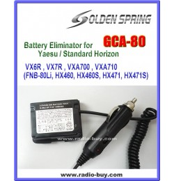 GCA-80 Battery Eliminator for Yaesu VX-6R & VX-7R & VXA700/710 HX460 471