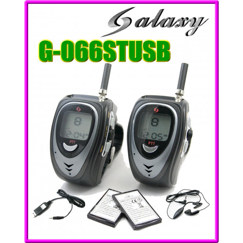 GS-066ST USB Watch Walkie Talkie (446MHz) Licence Free in Europe
