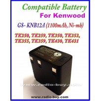 Kenwood - Compatible Battery for KNB12A (1100mAh, Ni mh) KNB-9A,KNB-11A,KNB-12A,TK359,TK430