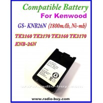 Kenwood - Compatible Battery for KNB-26N(1800mAh, Nimh) TK2160 TK2170 TK3160 TK3170 KNB-26N