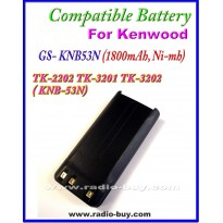 Kenwood - Compatible Battery for KNB53N (1800mAh, Ni mh) TK2202 TK3201 TK3202