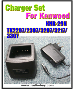 Kenwood - Compatible Charger Set for KNB-29N (TK2207/2307/3207/3217/3307)