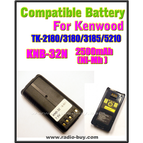 Kenwood - Compatible Battery for KNB-32N (TK-2180/3180/3185/5210)