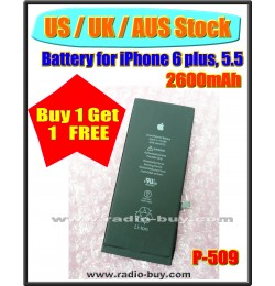 (US / UK / AUS Stock ) Battery for iPhone 6 plus (2600mAh) P-509 *Buy 1 get 1 Free*