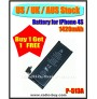 (US / UK / AUS Stock ) Battery for iPhone 4S (1420mAh) P-513A *Buy 1 get 1 Free*