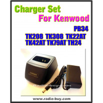Kenwood - Compatible Charger Set for PB34 (TH-22,TH-42,TH-79,TH-208, TH-308)