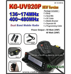Wouxun KG-UV920P Dual Band Radio (136-174MHz and 400-480MHz)