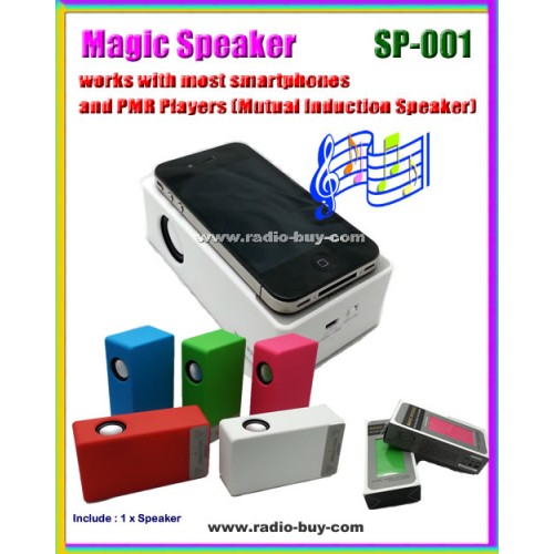 Speaker SP-001 Magic Speaker for Smart Phones and PMP Players (mutual induction speaker)