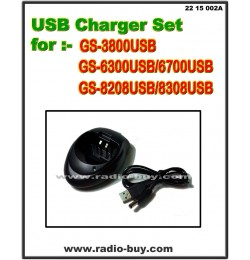 USB Charger Set for Golden Spring GS-3800/6300/6700/8208/8308