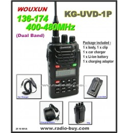 Wouxun KG-UVD1P Dual Band Radio (136-174MHz and 400-480MHz)