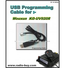 USB Programming Cable for Wouxun KG-UV920R