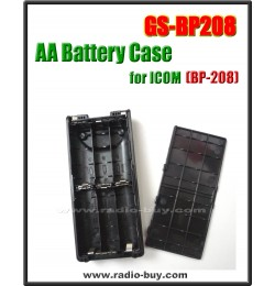Icom -  Compatible AA Battery Case for BP-208,  **GS-BP208**