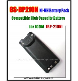 Icom -  Compatible Battery for BP-210N, 1650mAh (7.2V) Ni-Mh  **GS-BP210N**