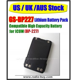 Icom -  Compatible Battery for BP-227 (2000mAh) Lithium**GS-BP227**