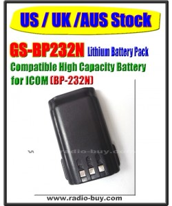 Icom -  Compatible Battery for BP-232N (2000mAh) Lithium**GS-BP232N**