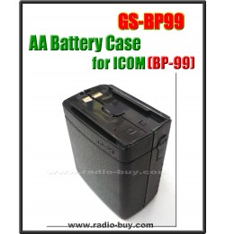 Icom -  Compatible AA Battery Case for BP-99,  **GS-BP99**