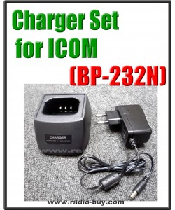Icom -  Compatible Charger Set for BP-232N (ICOM ICA14S ICF14S ICF24S FCF3021 F4201)