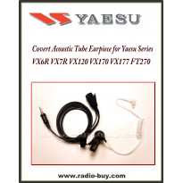 Earphone (Covert Acoustic Tube) for Yaesu, VX6R VX7R VX120 VX170 VX177 FT270