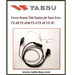 Earphone (Covert Acoustic Tube) for Yaesu, VX-8R VX-8DR VX-8 VX-8E VX-9U