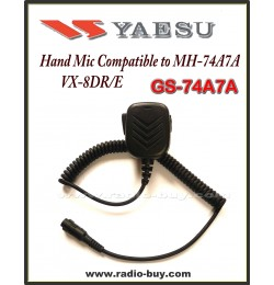 Hand Mic for Yaesu, GS-74A7A for VX-8DR/E (MH-74A7A)