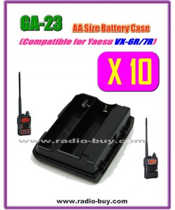 GA-23 x 10 pcs Compatible Battery case for Yaesu VX-6R/VX-7R,FBA-23**