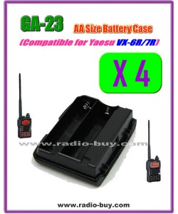 GA-23 x 4 pcs Compatible Battery case for Yaesu VX-6R/VX-7R,FBA-23**