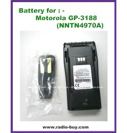 Motorola - Compatible Battery for GP-3188 (NNTN4970A)