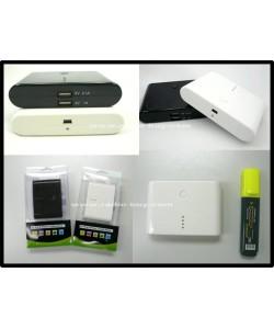 GP-8800 (Power bank lithium battery for iPad, iPhone, Smartphones & Digital Devices*) 8800mAh