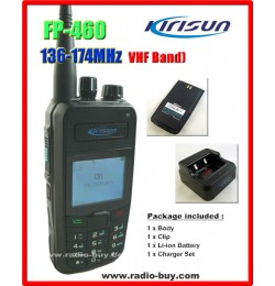 Kirisun EP-460 Radio (VHF 136-174MHz) Dual Mode of Digital & Analog*