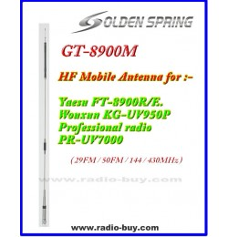 Antenna GT-8900M HF&V/UHF Mobile Antenna for Yaesu FT-8900R/E. Wouxun KG-UV950P& PR-UV7000
