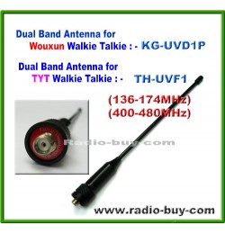 Antenna for Wouxun, KG-UVD1P & TYT,TH-UVF1 (136-174 & 400-480MHz)