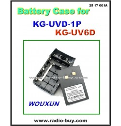Battery Case For Wouxun KG-UVD1P/KG-UV6D