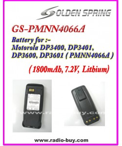 Motorola - Compatible Battery for PMNN4066A (1800mAh) Lithium**GS-PMNN4066A