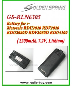 Motorola - Compatible Battery for RLN6305 (2200mAh) Lithium, GS-RLN6305*