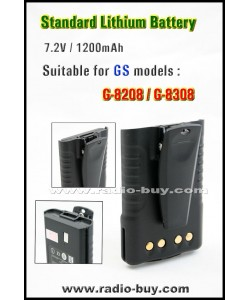Battery for Golden Spring GS-8208/8308 1200mAh / 7.4V