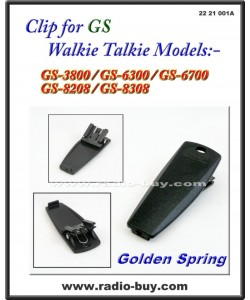 Belt Clip for Golden Spring GS-3800/6300/6700/8208/8308, G-103LI