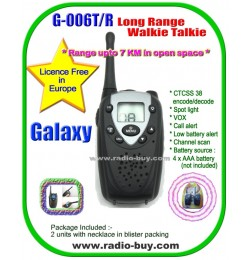 Galaxy G-099ST Long Range Walkie Talkie (446MHz) Licence Free in Europe