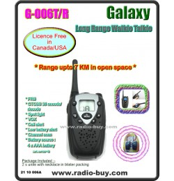 Galaxy G-099ST  Long Range Walkie Talkie (462MHz) Licence Free in Canada/USA