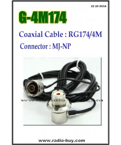 Coaxial Cable for Mobile (Model:G-4M174)
