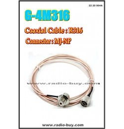 Mobile Coaxial Cable G-4M316N (MJ-NP/4M)