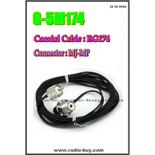 Coaxial Cable for Mobile (Model:G-5M174)*