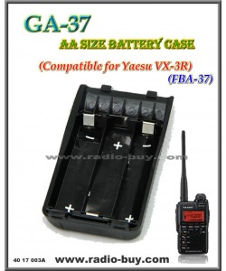 GA-37 AA Size Battery Case Compatible for Yaesu VX-3R, FBA37 (3 x AA battery)