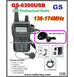 Golden Spring GS-6300USB Amateur Radio (VHF 136-174MHz)