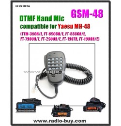 GSM-48 DTMF Hand Mic (Compatible for Yaesu MH-48A6J)