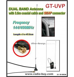 Dual Band Mobile Antenna GT-UVP (144MHz/450MHz)