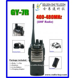 GOT GY-7R Walkie Talkie (UHF 400-480MHz) + Programming Cable